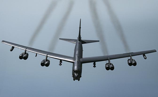 Американский «стратег» потерял термоядерные бомбы - «Армия»