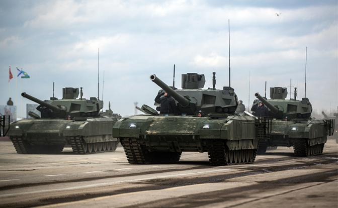 «Армата» готова лишь для парадного прохода по Красной площади - «Армия»