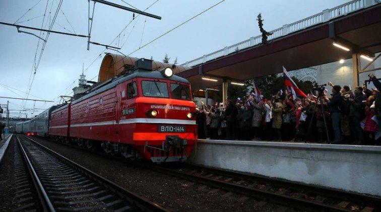 Приехавшие в Крым на поезде пассажиры предпочли самолет - «Крым»