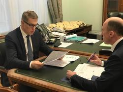 Михаил Мурашко и Олег Хорохордин обсудили строительство нового перинатального центра в Республике Алтай - «Здравоохранение»