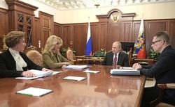 Министр здравоохранения Михаил Мурашко доложил Президенту о мерах по предупреждению распространения вируса 2019-nCoV - «Здравоохранение»