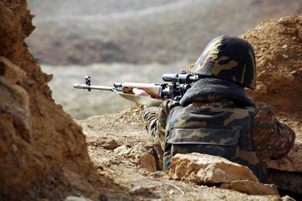 Огонь продолжали вести на линии соприкосновения Арцах - Азербайджан - «Армия»