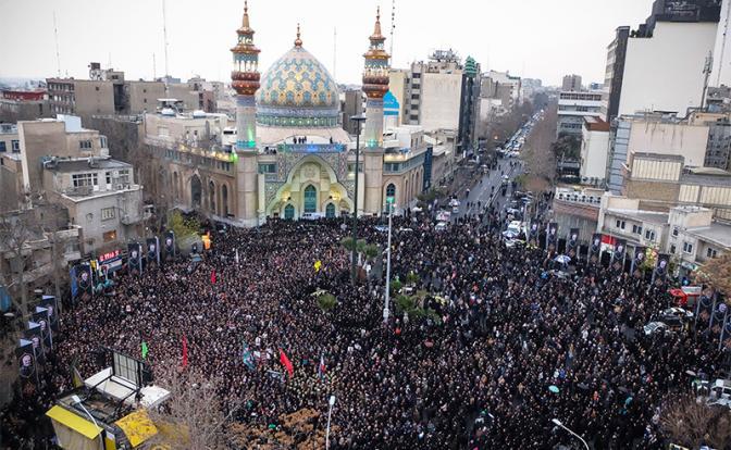 Протесты в Тегеране: Новую «арабскую весну» принесли на крыльях сбитого Boeing - «В мире»