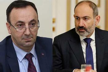 Товмасян обвинил Пашиняна в клевете и дал ему 20 дней срока - «Политика»